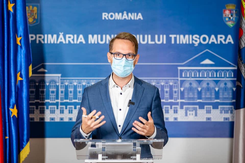 """Primarul Fritz, despre prelungirea carantinei în Timișoara: """"Cred că e posibil să avem un Paște în condiții mai normale ca anul trecut"""""""