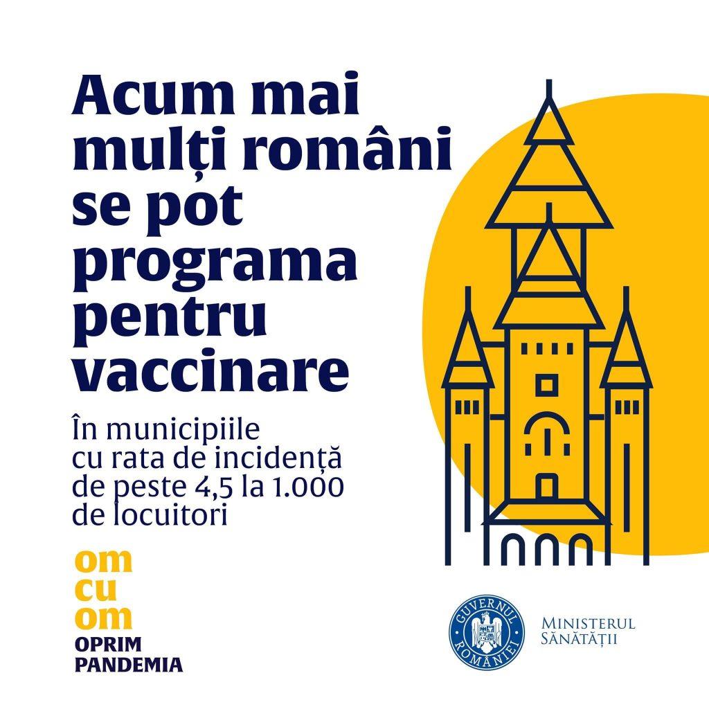 Catedrala din Timișoara, fără cruci într-un afiș pro-vaccinare al Ministerului Sănătății