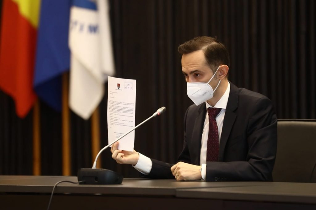 Șeful CJ Timiș propune Ministerului Sănătății măsuri pentru evitarea carantinei