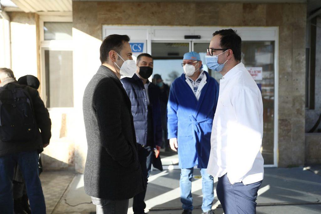 A fost deschis primul centru de vaccinare non-stop din România, la Timișoara