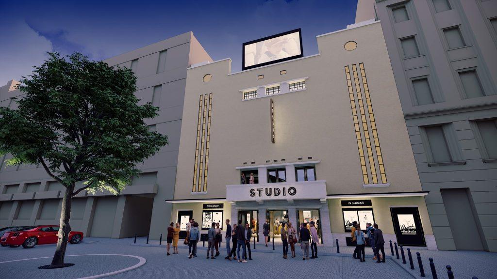 Poate începe reabilitarea fostului cinema Studio din Timișoara. A fost semnat contractul