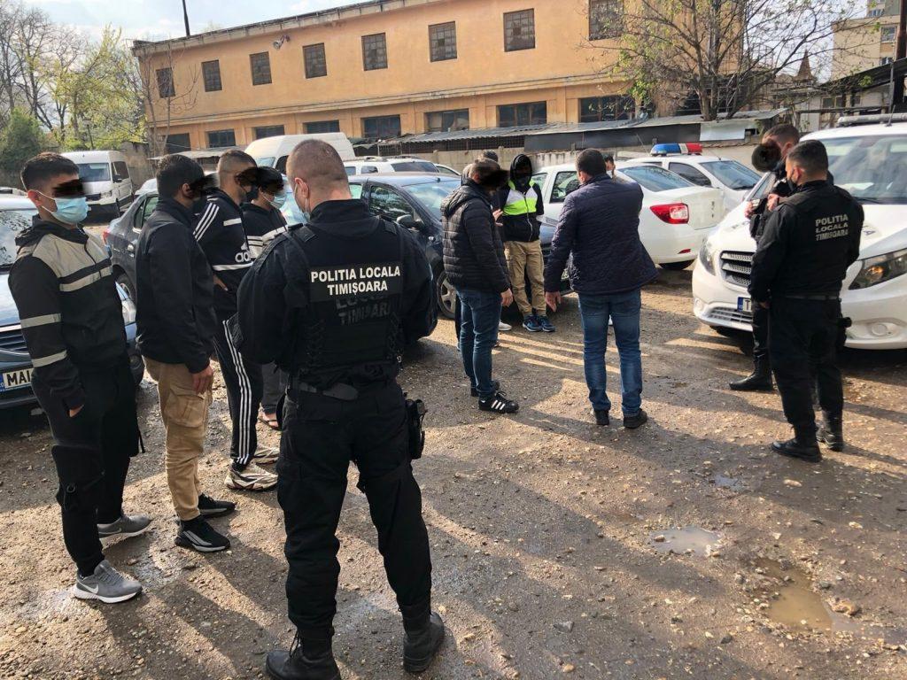 Patru din cei șase suspecți în cazul crimei între migranți din Timișoara, prinși de polițiști