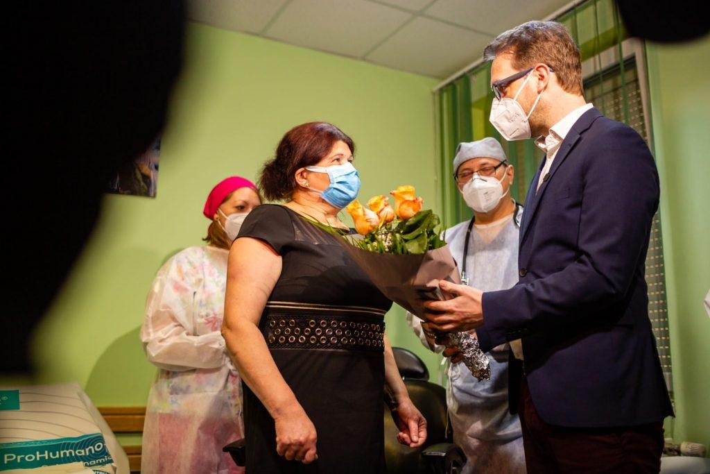 Prima vaccinare anti-Covid din România în cabinetul unui medic de familie a avut loc la Timișoara