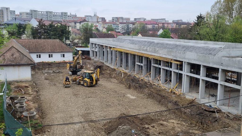 Lucrări în timp record la noile clădiri de la Spitalul de Boli Infecțioase din Timișoara