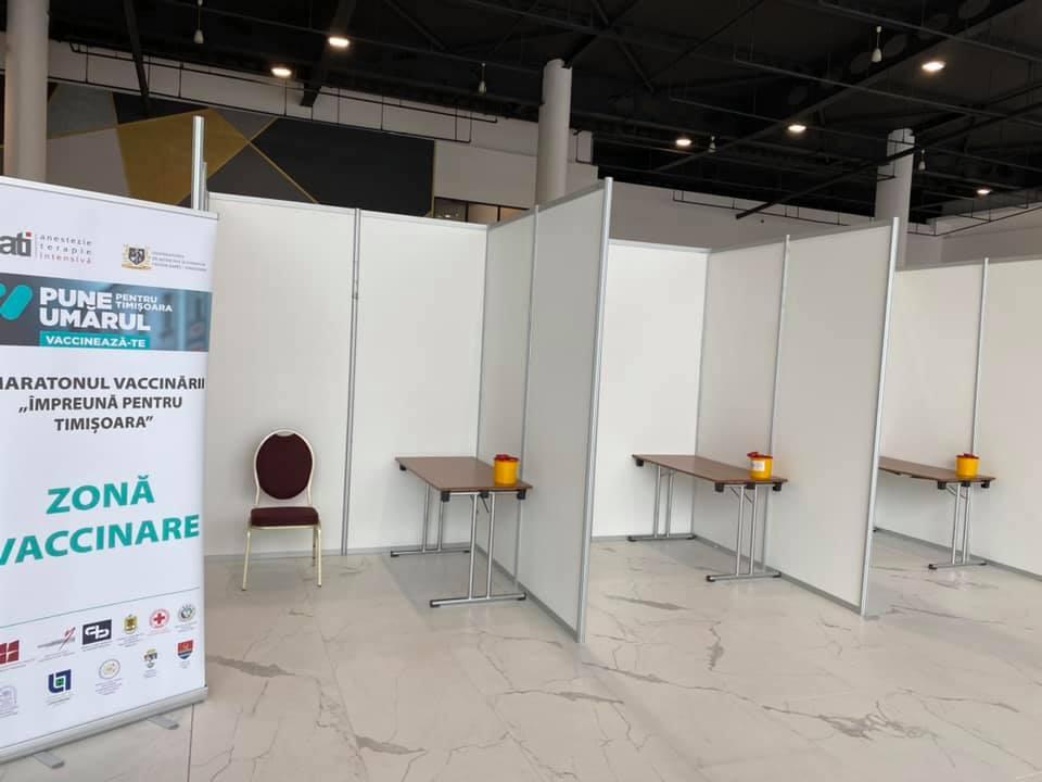 Nu mai este nevoie de programare pentru a participa la Maratonul Vaccinării, la Timișoara