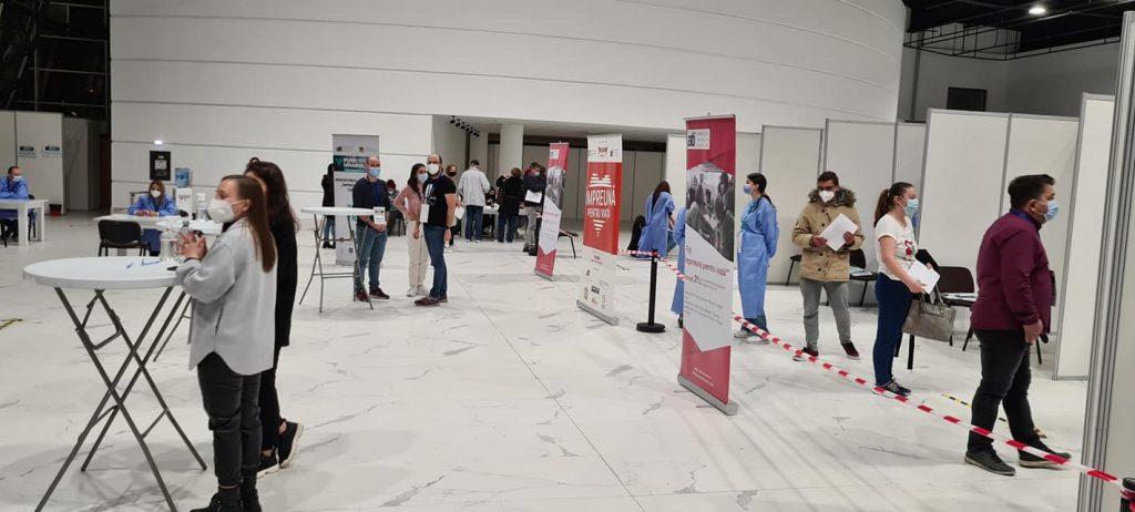 Concert, expoziție de artă și testări gratuite la a doua ediție a Maratonului Vaccinării de la Timișoara