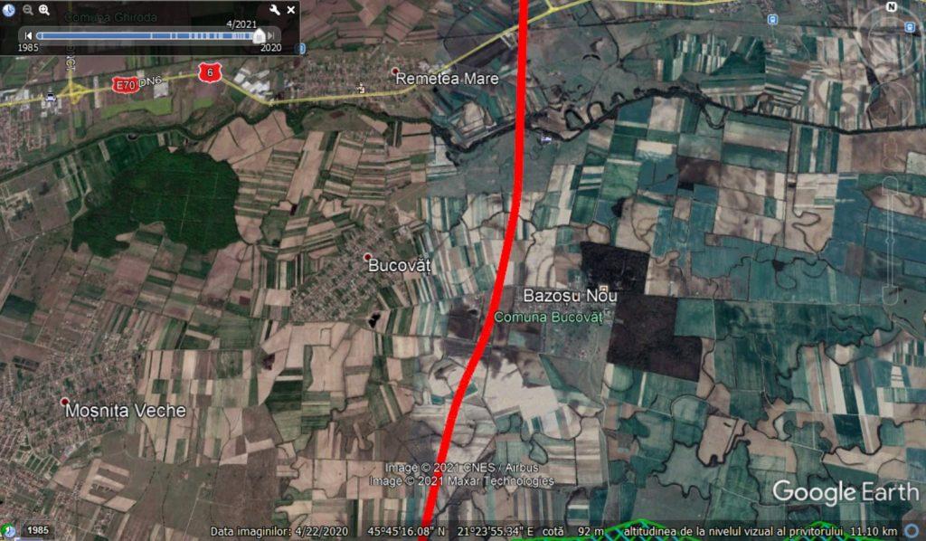 Autostrada Timișoara-Moravița nu mai trece prin casele localnicilor. A fost propus un traseu nou