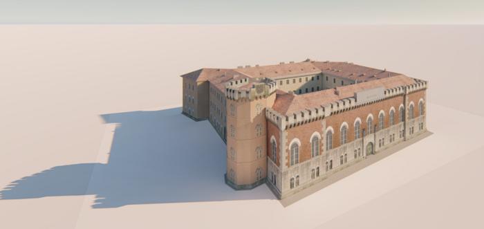 O parte a Castelului Huniade ar putea fi deschisă până în anul 2023