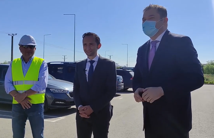 Ministrul Dezvoltării a anunțat că lucrările la drumul Timișoara-Moșnița Nouă se încheie în curând