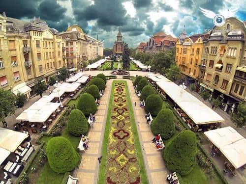 Timișoara a intrat în scenariul verde. Se pot organiza spectacole și concerte