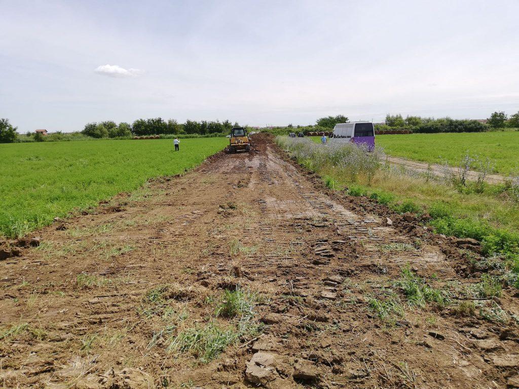 Probleme fără sfârșit la Drumul Boilor. Viceprimarul Lațcău vine cu vești de pe acest șantier
