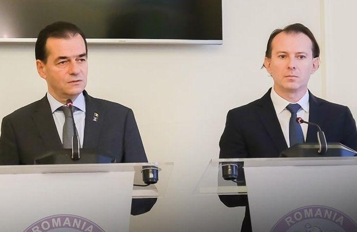 Ludovic Orban și premierul Cîțu, așteptați la Timișoara
