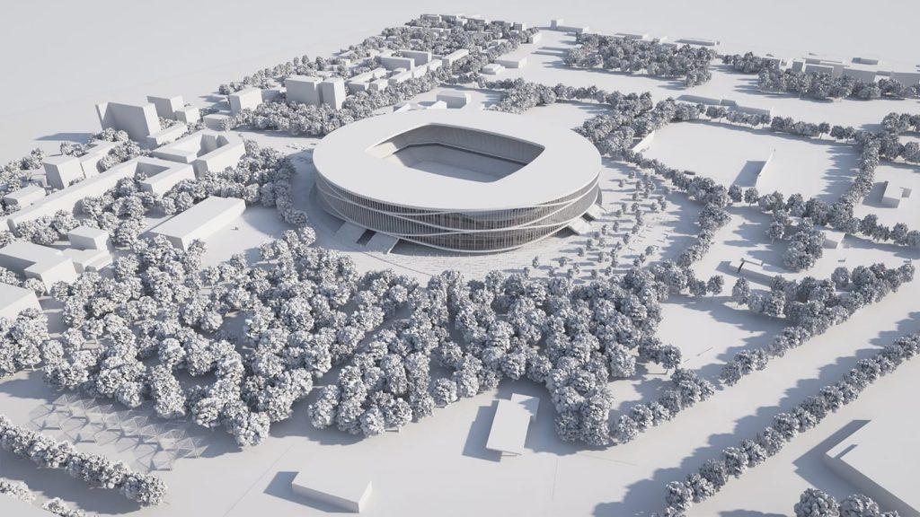 Noul stadion al Timișoarei nu va avea pistă de atletism. Investiția se ridică la 122 milioane euro