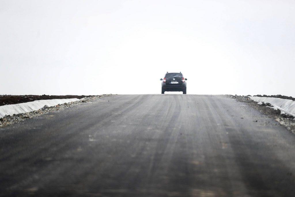 Drum important la limita cu Aradul, modernizat de Consiliul Județean Timiș