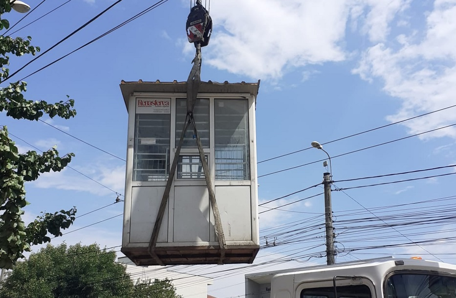 La Timișoara se ridică chioșcurile abandonate pe domeniul public