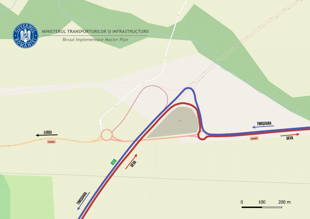 Fără ambuteiaje: soluția găsită pentru fluidizarea traficului în nodul rutier de la Margina