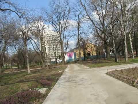 Blocaj în Parcul Civic din Timișoara, aflat în șantier de un an și jumătate
