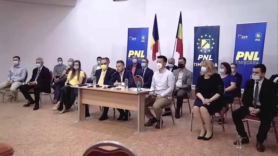 Alin Nica vrea să sancționeze zeci de liberali, după incidentele de la alegerile din PNL Timișoara