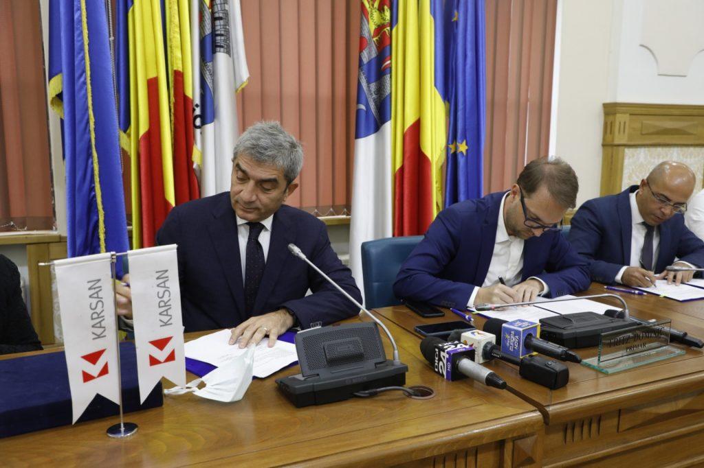 Primăria Timișoara a semnat contractul pentru achiziționarea a 44 de autobuze electrice