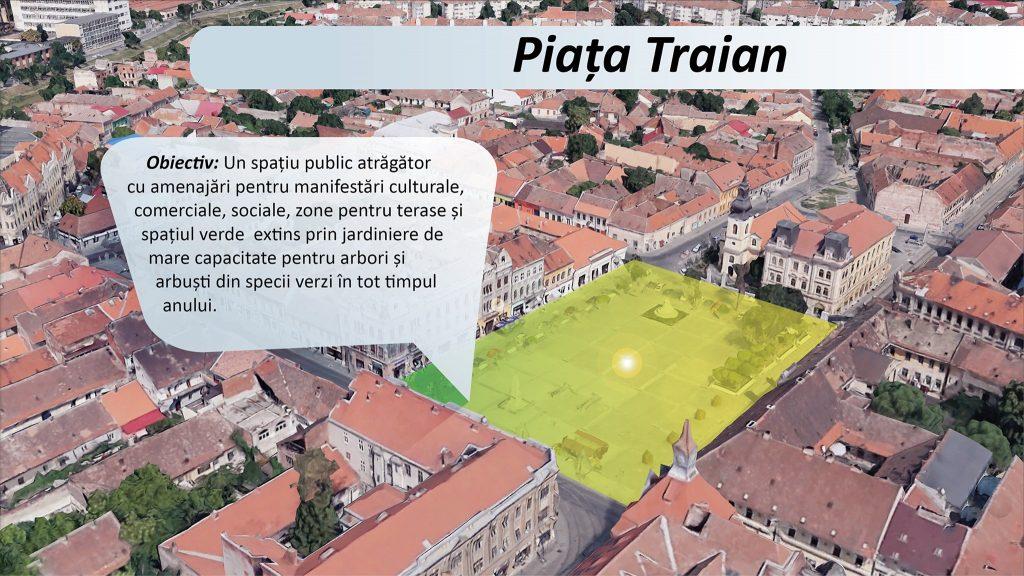 Primăria Timișoara vrea să transforme zona Traian în al doilea centru al orașului